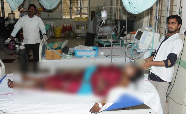 Gang Molestation And Murder on Women in Prakasam - Sakshi