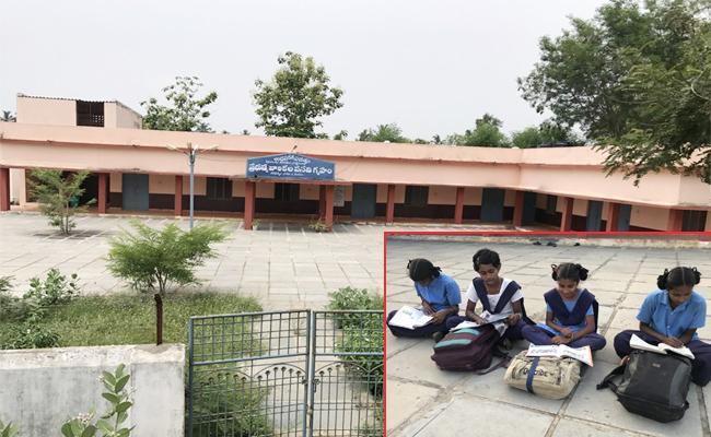 Four Students in BC Girls Hostel Srikakulam - Sakshi