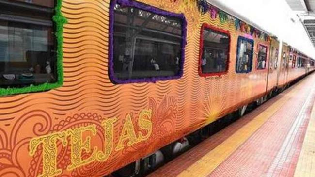 IRCTC To Pay Compensation To Tejas Express Passengers For Delay   - Sakshi