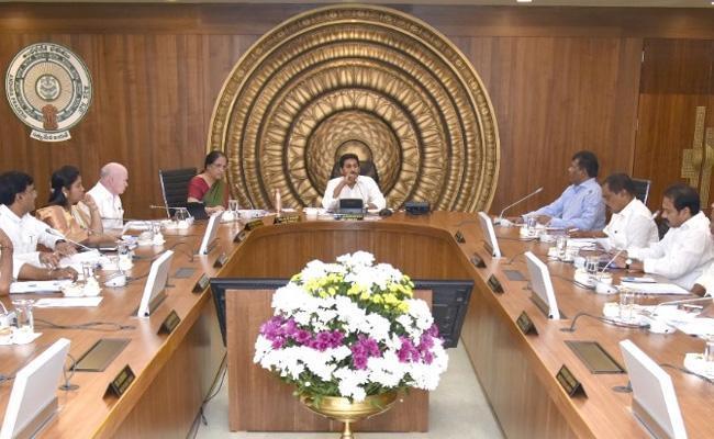 Andhra Pradesh Cabinet Will Meet On 27th January - Sakshi
