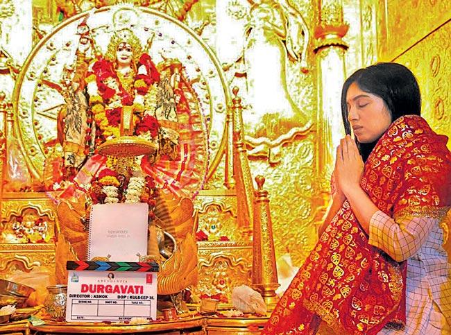 Bhumi Pednekar Starts Shooting for Durgavati - Sakshi