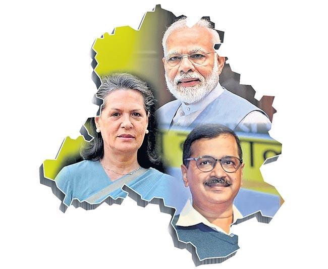 India vs Pakistan in Delhi Elections 2020 says BJP candidate Kapil Mishra - Sakshi