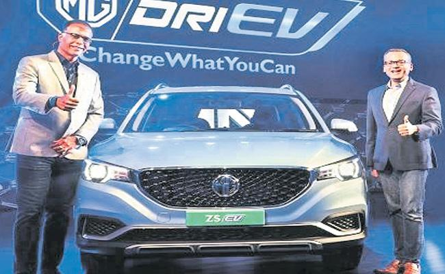 MG Motor India Launches ZS Electric Starting At Rs 20.88 Lakh - Sakshi