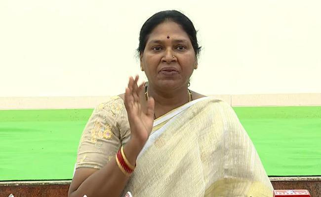 MLC Pothula Sunitha Fires On Chandrababu Naidu - Sakshi