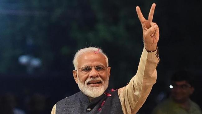 Poll Reveals Narendra Modi Number One Choice As Next PM - Sakshi