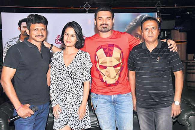 mithun chakraborty son new movie shooting at hyderabad - Sakshi