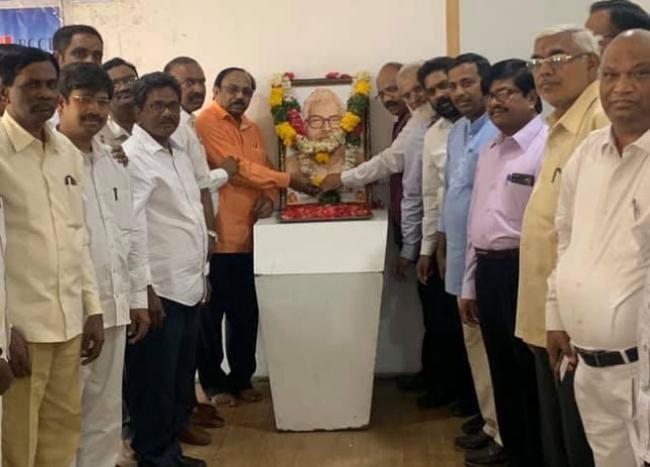 Nayee Brahmins Tribute to Karpoori Thakur on His Birth Anniversary - Sakshi