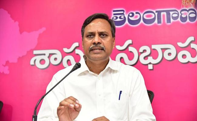 TRS MLC Palla Rajeshwar Reddy Talks In Telangalana Bhavan In Hyderabad  - Sakshi
