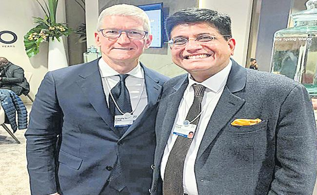 WEF 2020: Piyush Goyal Speaks At World Economic Forum Annual Conference - Sakshi