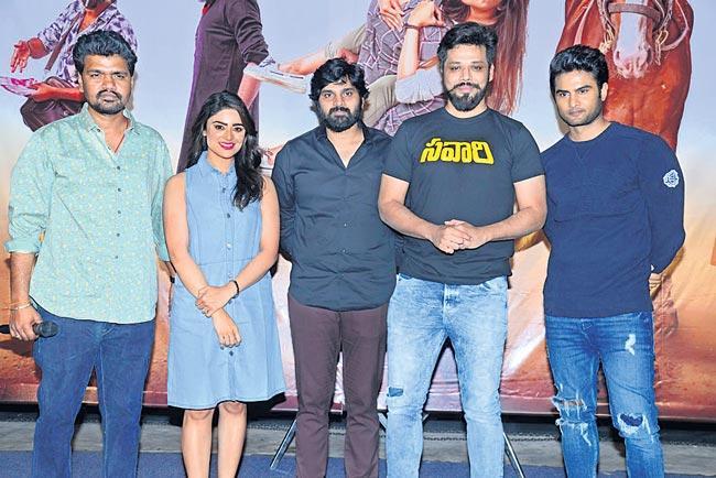 Savari Movie Trailer Launch - Sakshi