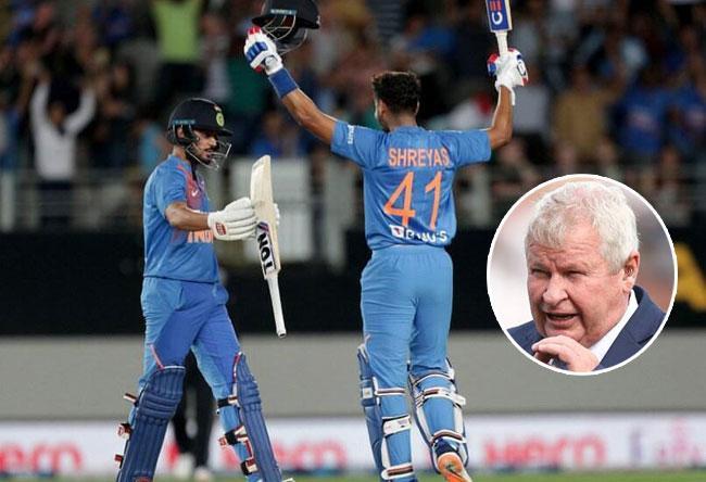 Former Kiwi Stumper Ian Smith Lauds India Batsman Shreyas Iyer - Sakshi