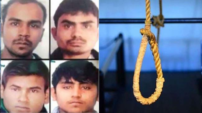 No last wishes for Nirbhaya convicts ahead of hanging on Feb 1 - Sakshi