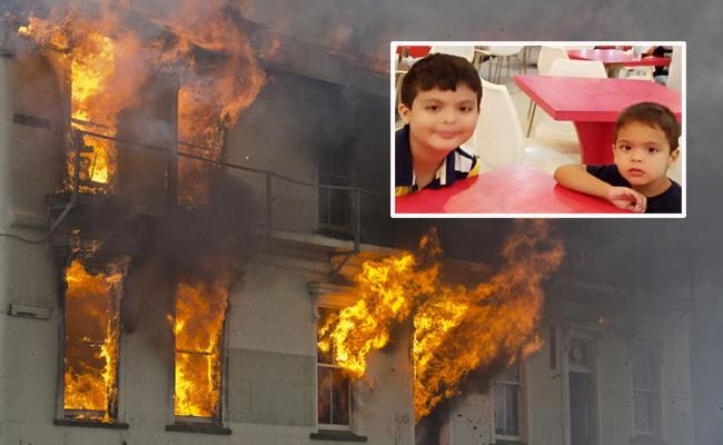 Boy And His Brother Killed In Fire Before His Birthday Party In Guwahati - Sakshi