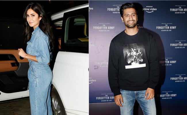 Katrina Kaif and And Vicky Kaushal Spotted Together Again - Sakshi