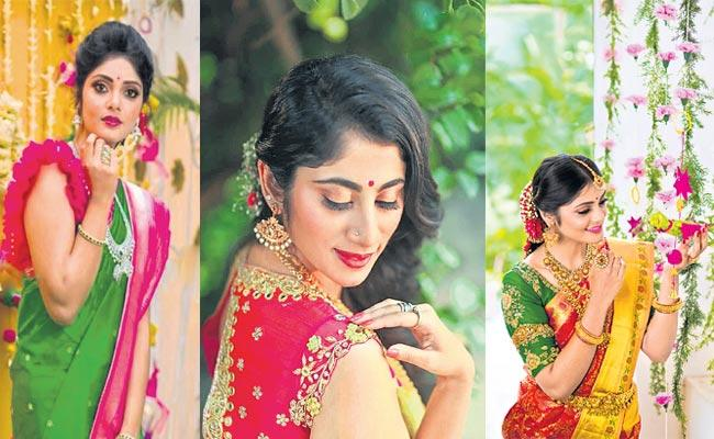 Chosen Blouse Design Must Be Unique In Order For The Beauty To Look Double - Sakshi
