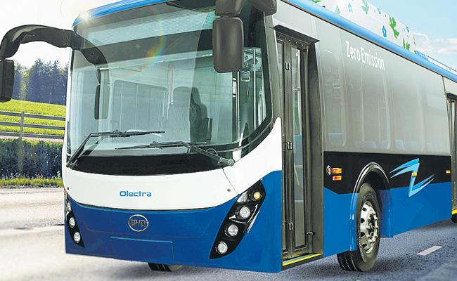 Olectra Greentech Intercity Coaches Will Be Soon In India - Sakshi