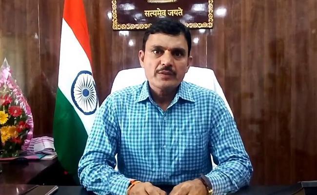 Jagtial Collector Sharat Talks In Press Meet - Sakshi
