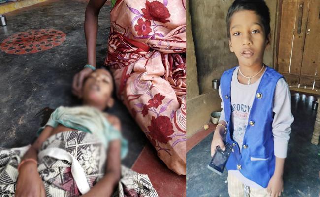 Boy Died in Private School Bus Accident West Godavari - Sakshi