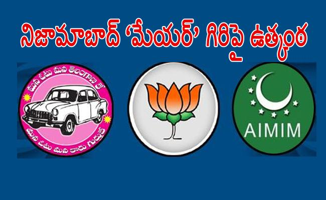 BJP And TRS Plans For Nizamabad Corporation - Sakshi