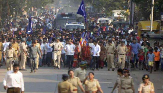 Transfer of Koregaon-Bhima case to NIA - Sakshi