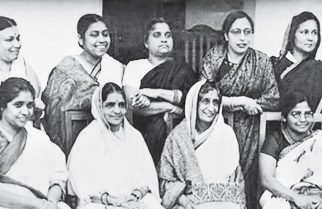 Women Who Participate In 1946 Constitutional Meet At Delhi - Sakshi