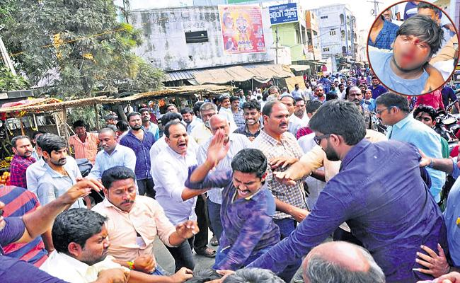 TDP attacks on students and youth - Sakshi