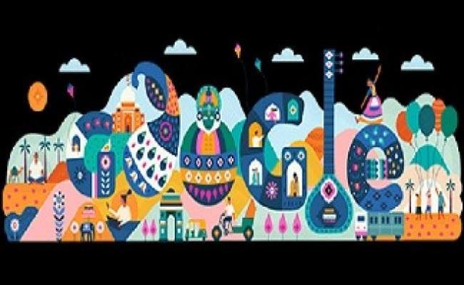 Republic Day 2020: Google Doodle Celebrates India Diverse Culture - Sakshi