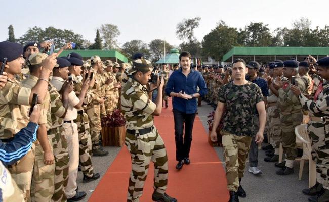 Mahesh Babu Met Jawans Photos On Twitter - Sakshi