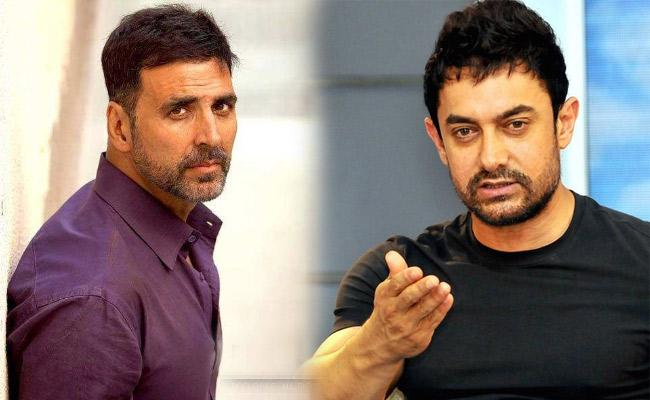Amir Khan Says Thank You To Akshay Kumar And Bachchan Pandey Director - Sakshi