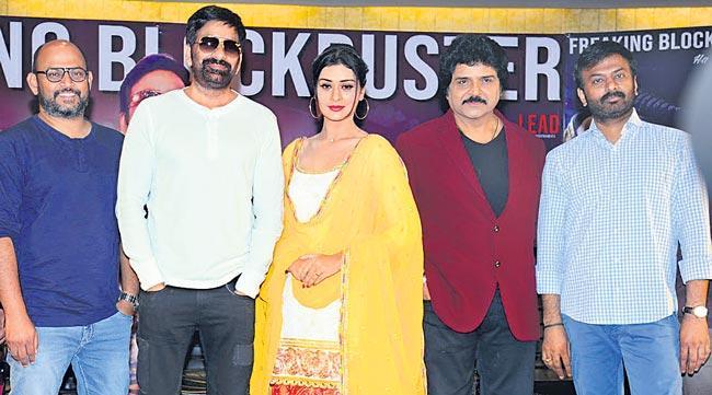 Disco Raja Movie Success Celebrations - Sakshi