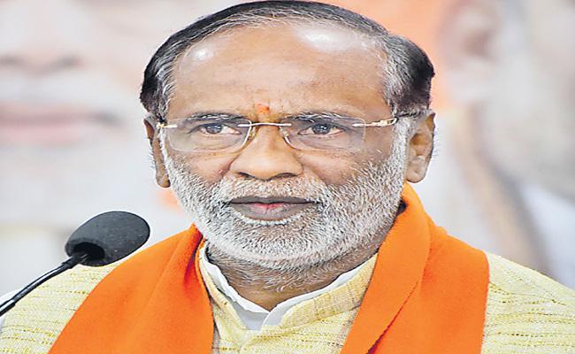 BJP Leader Laxman Slams On KCR - Sakshi