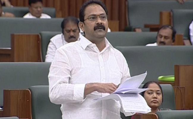 Alla Nani Fires On Chandrababu In Assembly Over Decentraligation Of Power - Sakshi