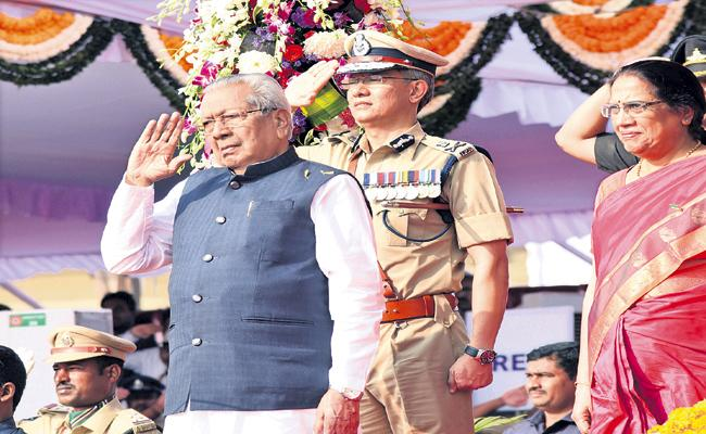 Republic Day celebrations as grand level - Sakshi