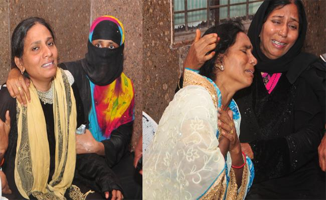 Three Child Death in Pond YSR kadapa - Sakshi