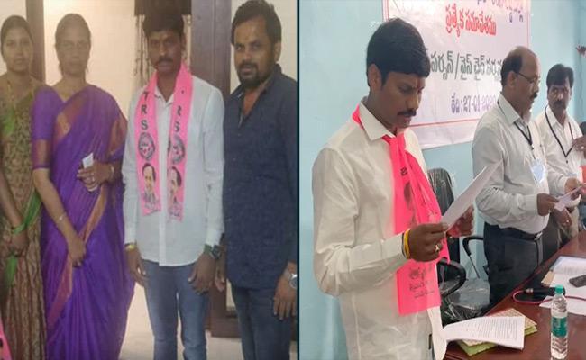 Kantekar MadhuMohan Swearing In As Tukkuguda Municipality Chairperson - Sakshi