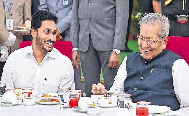 Republic Day Event in AP Raj Bhavan - Sakshi