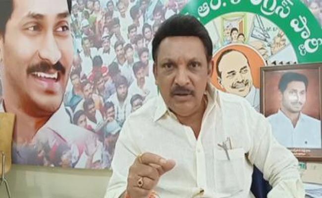 YSRCP MLA Grandhi Srinivas Slams On Chandrababu Naidu - Sakshi