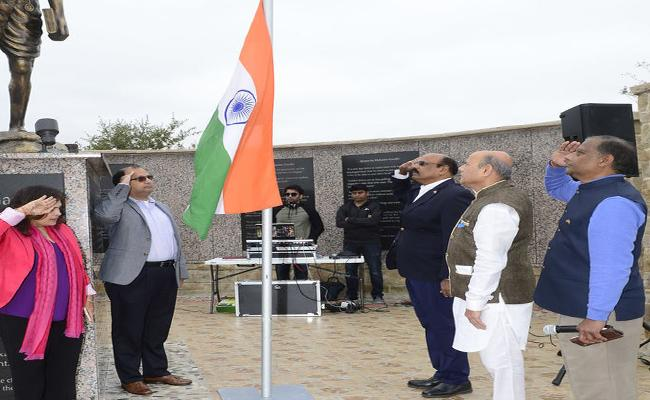 MGMNT Conducted Republic Day Celebrations In Dallas - Sakshi