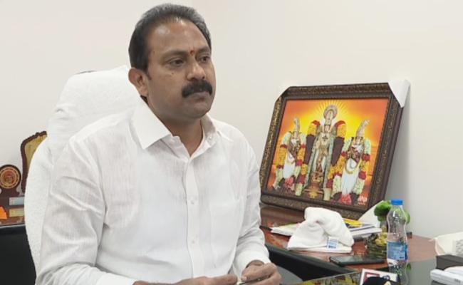 Deputy CM Alla Nani Review Meeting Over Coronavirus - Sakshi