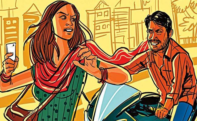 Eve teasing on Mother And Daughter in Banjara Hills Hyderabad - Sakshi