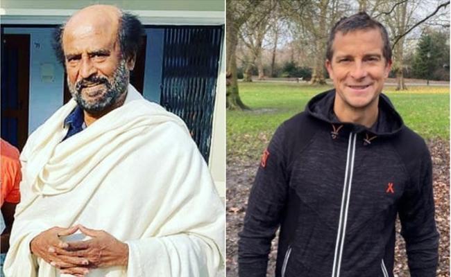 Rajinikanth to Shoot for Man Vs Wild Episode with Bear Grylls - Sakshi