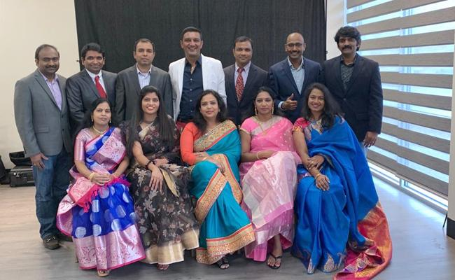 Dallas Telangana Praja Samathi 2020 Oath Taking - Sakshi