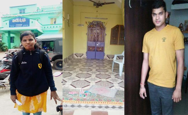 Wife Complaint on Husband in Spandana Programme Srikakulam - Sakshi