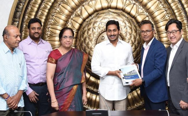 Boston Consulting Group On AP Capital Report Submitted To CM Jagan - Sakshi
