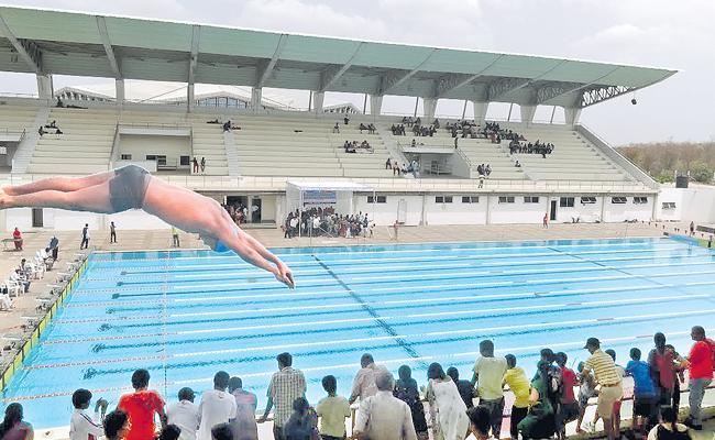 South Zone Swimming Tourney Starts Today - Sakshi
