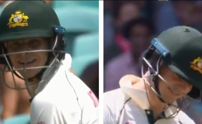 45 minutes, 39 balls: Smith Receives Standing Ovation - Sakshi