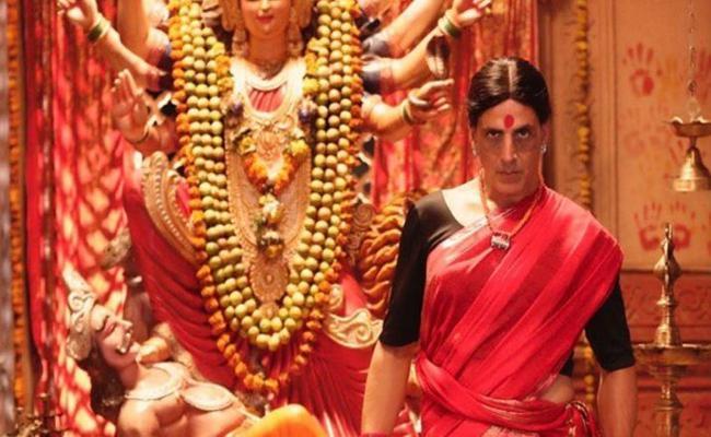 Akshay Kumar Shares Laxmi Bomb Movie Saree Pic Said I am Comfortable In Saree - Sakshi