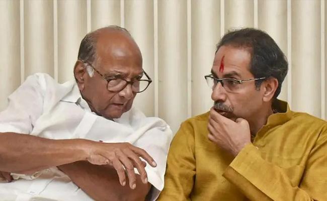 NCP May Get Big In Portfolio In Maharashtra Cabinet - Sakshi