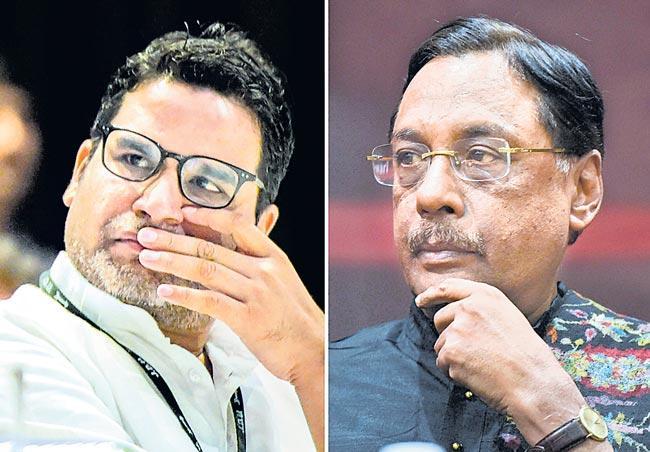 JDU expels Prashant Kishor and Pavan Varma for indiscipline - Sakshi