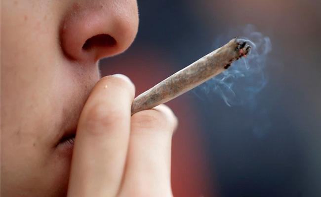Man Arrested For Lighting Ganja cigarette In Court While Facing Charges For ganja In USA - Sakshi